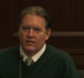 Michael Dunn under cross-examination, Feb. 11, 2014.