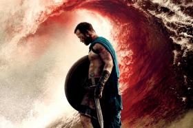 An image from the poster of '300: Rise of an Empire'