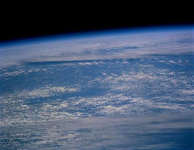 Earth as seen from space.