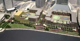 Sleiman Enterprises proposal for the Jacksonville Landing includes two new buildings.