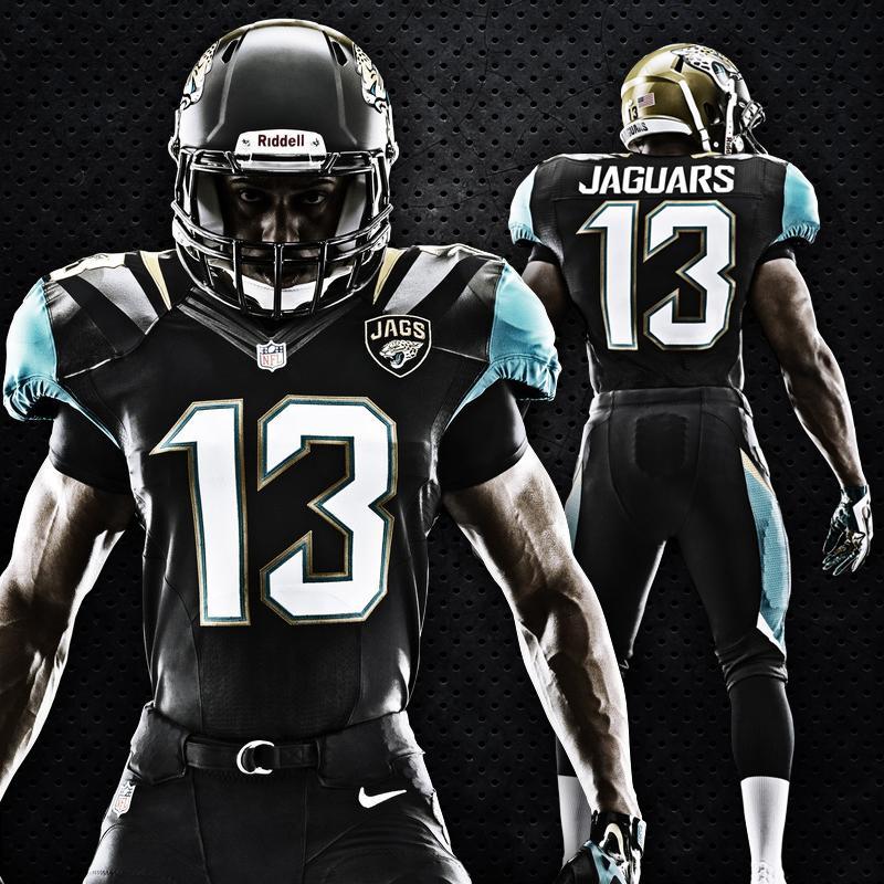 The new Jaguars uniform. Jacksonville Jaguars cfa18ae85