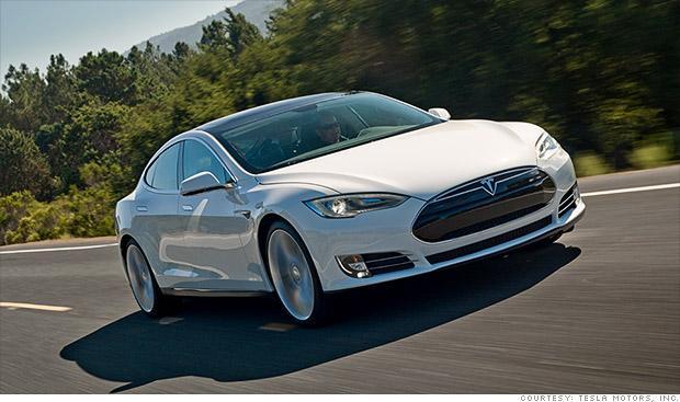 Tesla Model S Hybrid