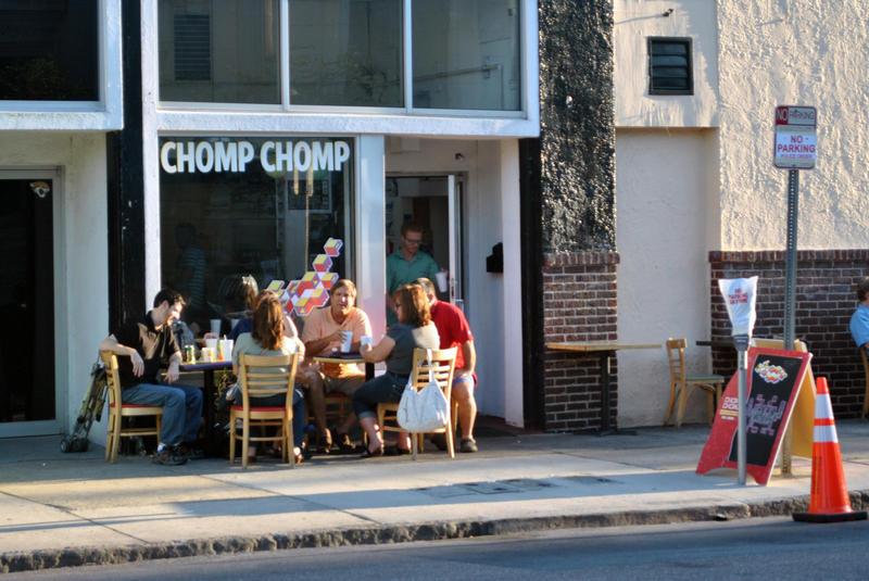 Chomp Chomp, located next to Burro Bar on Adams Street in downtown.
