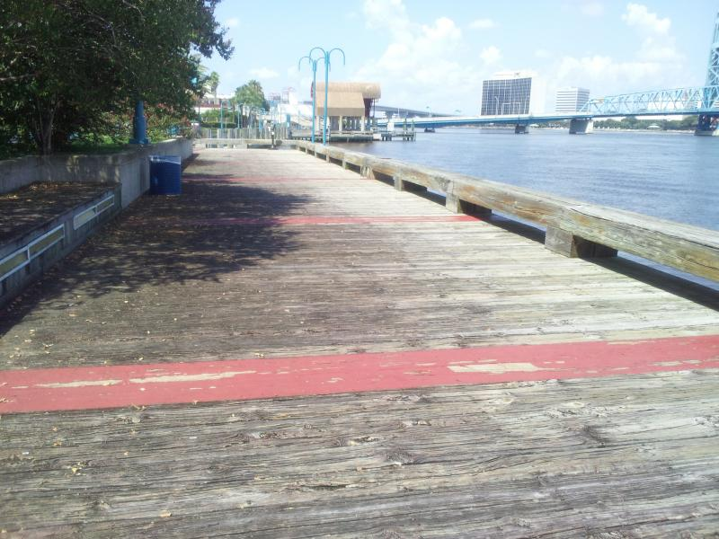 The Southbank Riverwalk is in need of many repairs