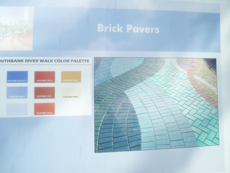 Here is what brickwork will look like