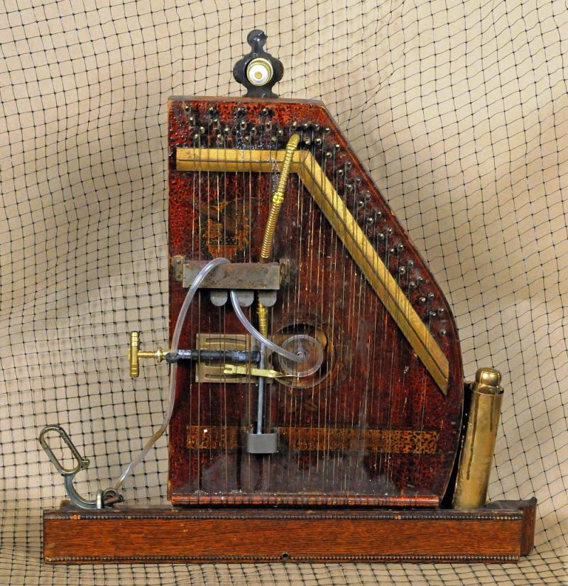 """""""Harmonic autoharp a.k.a. steam powered zither"""" by Jim Smith"""