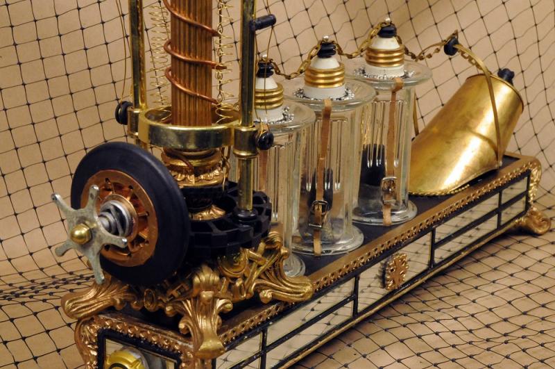"""""""Nikola Tesla's perpetual electromagnet battery"""" by Jim Smith"""