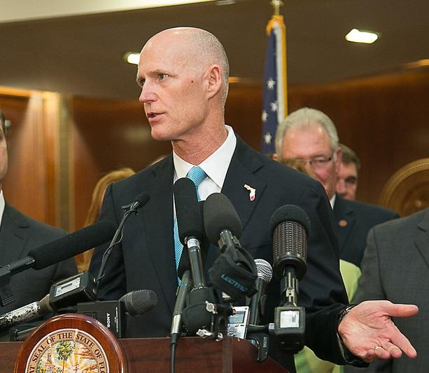 Rick Scott speaking