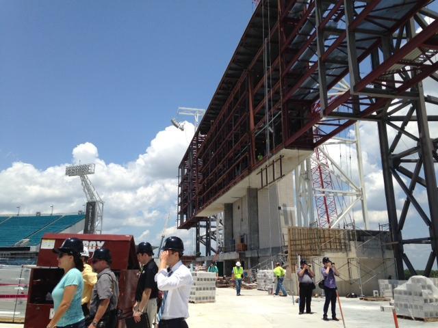 Photos Everbank Field Upgrades Target High End Ticket Buyers Wjct News