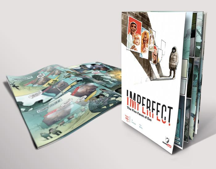 "The first issue of ""Imperfect: The Five Faces of Eve."" Jacksonville artist Al Letson has launched a crowfunding campaign to fund the next three issues."