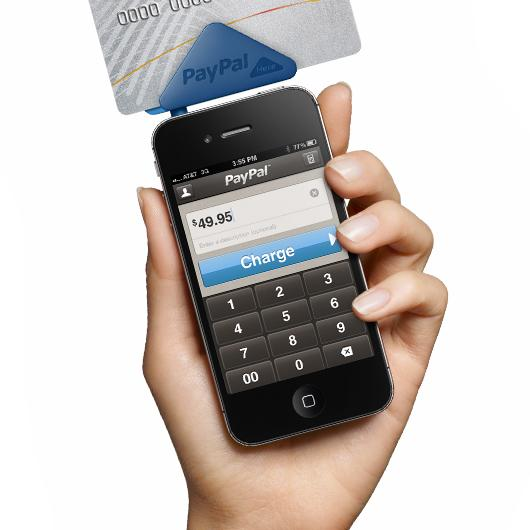 PayPal, one of the first online transaction companies, got into the mobile payment game with the PayPal Here.