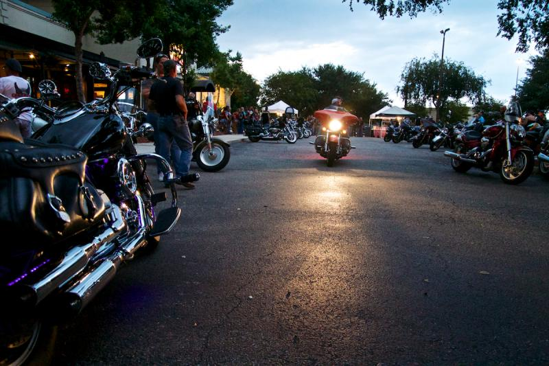 Bike Night at Dick's Wings in Orange Park draws in bikers from northeast Florida.