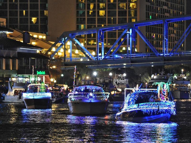 Community First Jacksonville Light Boat Parade