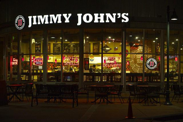 Jimmy John's restaurant