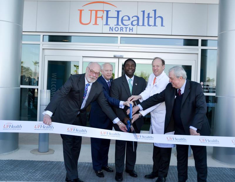 Ribbon Cutting at UF Health North