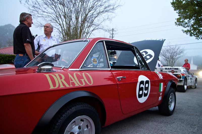 A 1969 Lancia Fluvia.