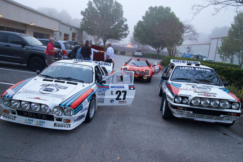 Jacksonville businesman John Campion assembled his collection of classic Lancia rally cars from around the world.