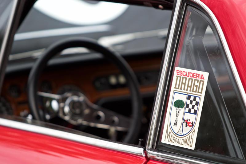Campion's 1969 Lancia Fluvia was driven in several European rally races.
