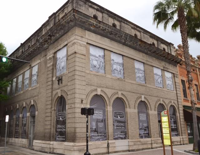 The Bostwick Building will begin a new life as the home of Cowford Chophouse