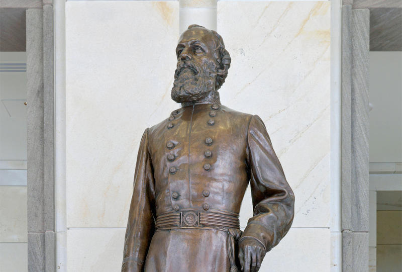 Edmund Kirby Smith is known for surrendering the last military force of the Confederacy. After the Civil War, Smith was an educator in Tennessee.