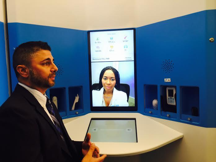 Jacksonville Company Opens Telehealth Kiosk As Lawmakers Debate