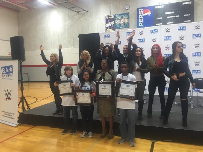 wwe wrestlers slam bullying at jacksonville middle school