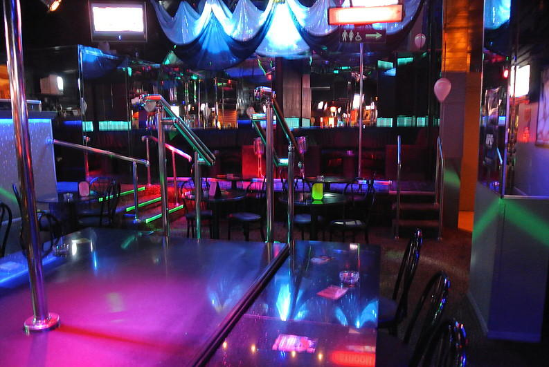 Cheetah Club interior