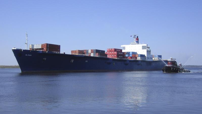 Sunken cargo ship El Faro