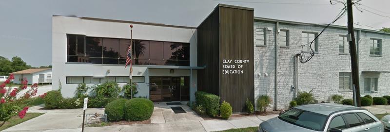 Clay County School Board building