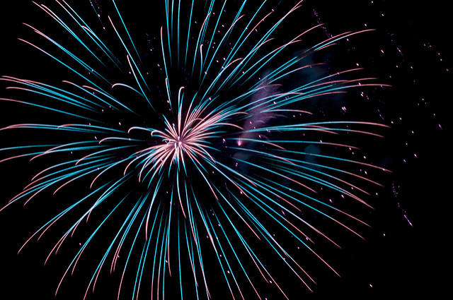 """A firework kind-of-night"""