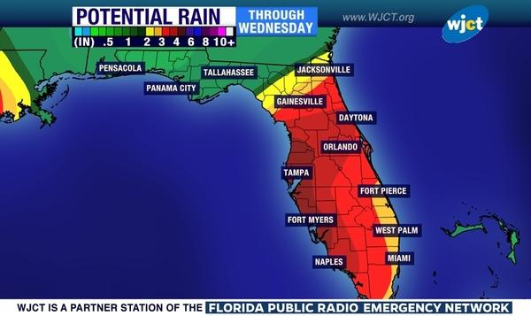 Florida Tornado Map.Update Tornado Warning Issued For Northern Florida Has Expired