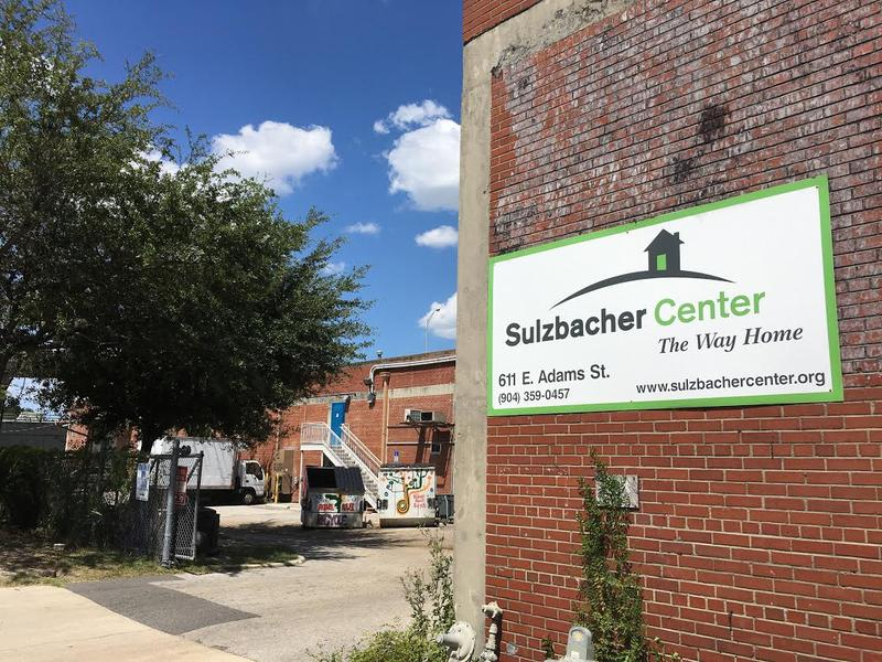 The Sulzbacher Center in downtown Jacksonville.