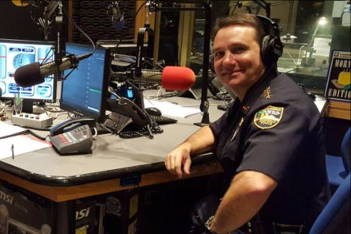 Sheriff Mike Williams at WJCT.