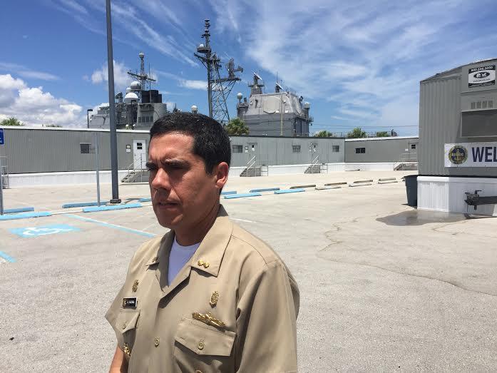 Peru's Rear Admiral Alberto Alcala