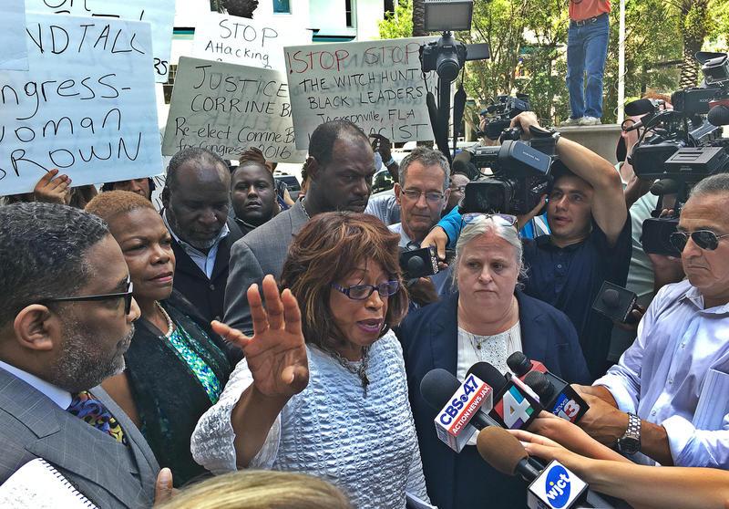 Congresswoman Corrine Brown (FLD-5) plead not guilty in July.