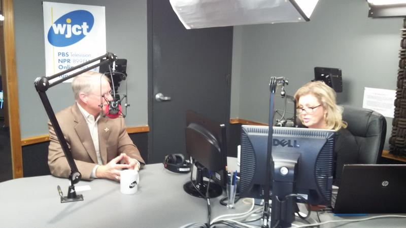 District 4 Congressional candidate John Rutherford joined Melissa Ross Wednesday morning on WJCT's First Coast Connect.