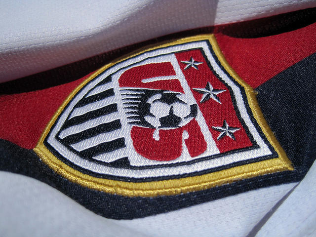 A United States Men's National Team jersey patch