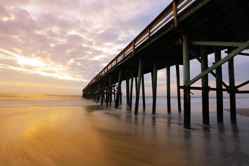 Amelia Island has 13 miles of beaches along the Atlantic.