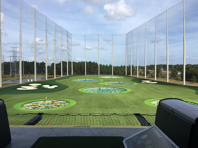 The view of the range from a bay on the 2nd floor.
