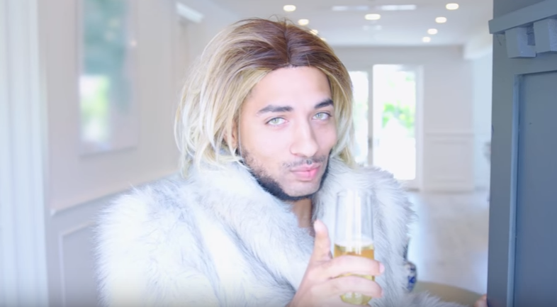 """Branden Miller presents """"Caucasian Living with Joanne The Scammer"""""""