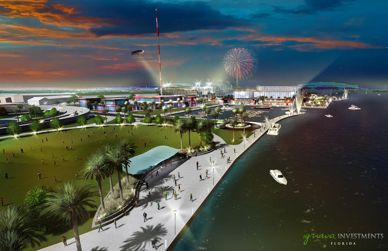 The Jaguars released conceptual renderings as part of Shad Khan's Iguana Investments' proposal for The Shipyards that will be submitted to the City of Jacksonville