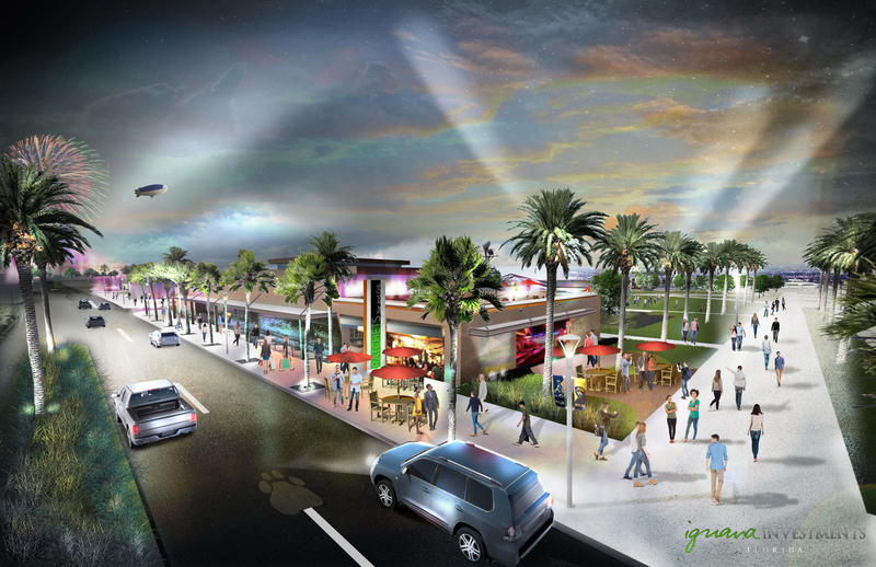 Iguana Investments rendering of proposed shipyards project.