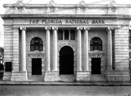 The Florida National Bank, or Marble Bank, is set to be renovated into the Bullbriar restaurant.