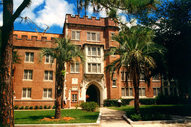 UF campus building