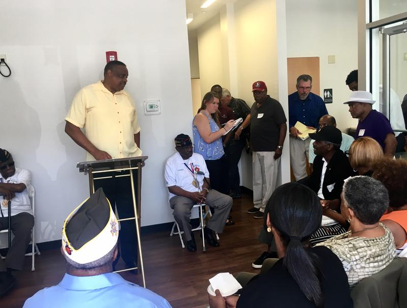 U.S. Rep. Al Lawson led a veterans roundtable discussion in Jacksonville, Thursday.