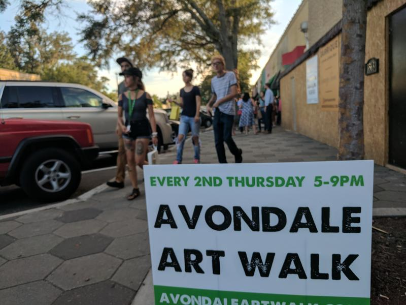 The Avondale Art Walk is held on the Second Thursday of each month.