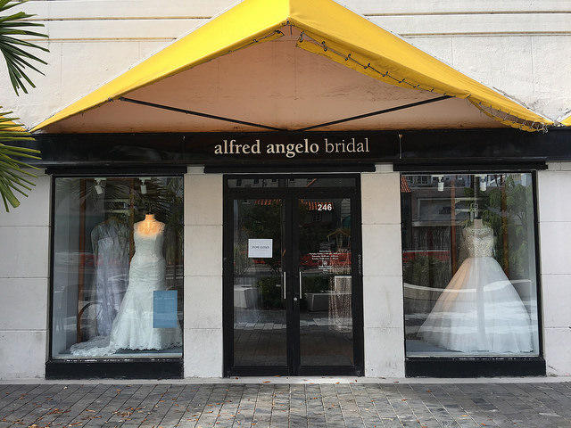 Alfred Angelo store with