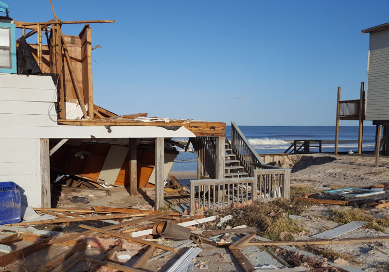 Ponte Vedra home damaged