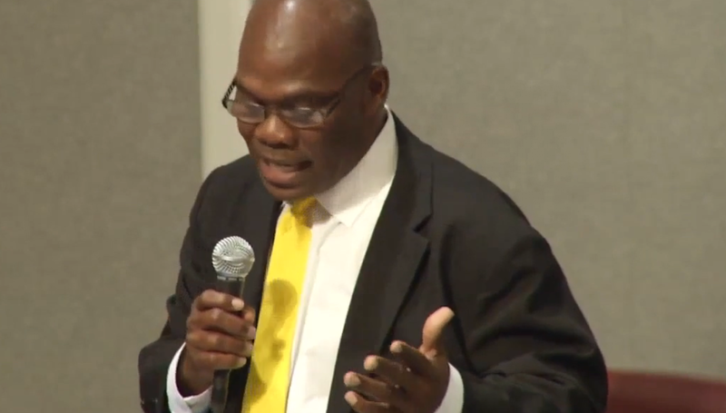 Jacksonville City Council member Reggie Gaffney apologized for his behavior during a traffic stop.