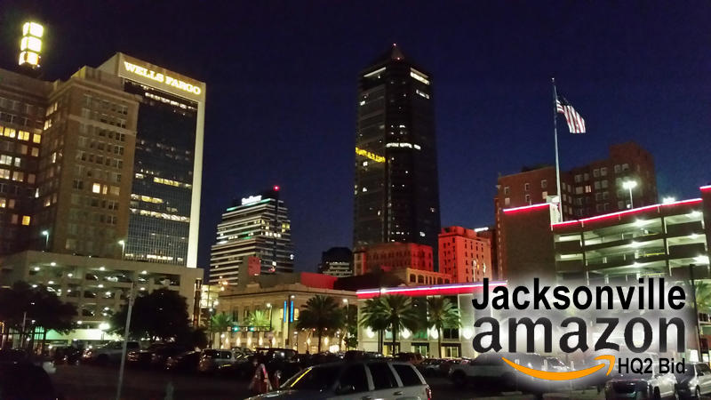 Mayor Lenny Curry says Jacksonville is interested in bidding for Amazon's HQ2.